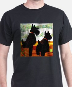 A Scottie Christmas T-Shirt