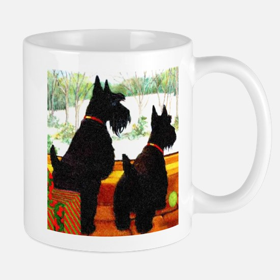 A Scottie Christmas Mug