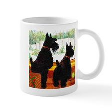 A Scottie Christmas Mug