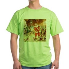 Santa in the North Pole Stables T-Shirt