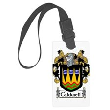 Caldwell Coat of Arms Luggage Tag