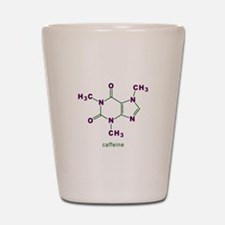 Caffeine Molecule Shot Glass