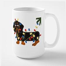 Dachshund (Blk/Tan)... Large Mug