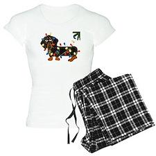 Dachshund (Blk/Tan)... Pajamas