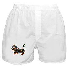Dachshund (Blk/Tan)... Boxer Shorts