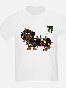 Dachshund (Blk/Tan)... T-Shirt