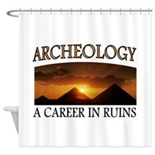 ARCHEOLOGY Shower Curtain