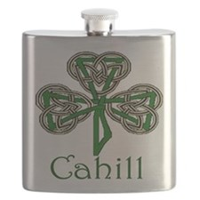 Cahill Shamrock Flask