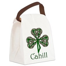 Cahill Shamrock Canvas Lunch Bag