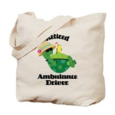 Retired Ambulance Driver Gift Tote Bag