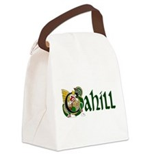 Cahill Celtic Dragon Canvas Lunch Bag