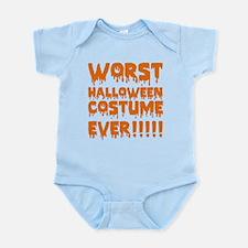 Worst Halloween Costume Ever!!!!! Infant Bodysuit