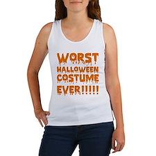 Worst Halloween Costume Ever!!!!! Women's Tank Top
