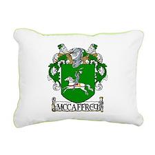 McCaffrey Coat of Arms Rectangular Canvas Pillow