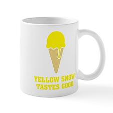 Yellow snow tastes good - Ice Cream No.3 Mug