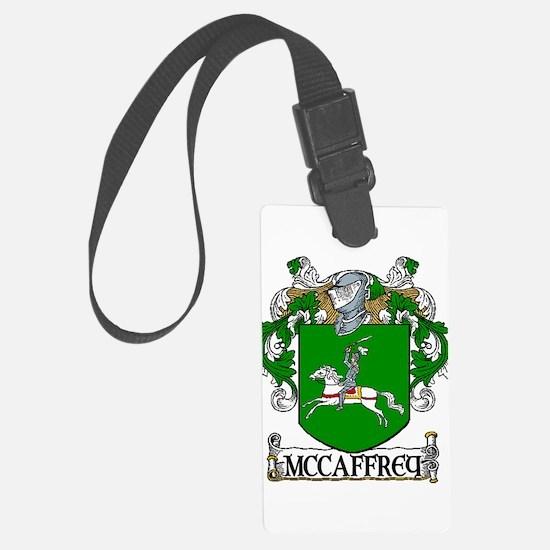 McCaffrey Coat of Arms Luggage Tag