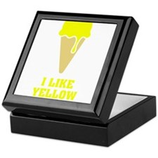 I like yellow snow - Ice Cream No.2 Keepsake Box