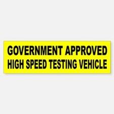 Government Approved High Speed Testing Vehicle