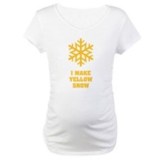 I make yellow snow - Flake No.1 Shirt