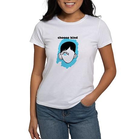 "WONDER ""choose kind"" Women's Classic White T-Shirt WONDER ..."