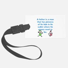 A Father is... Luggage Tag