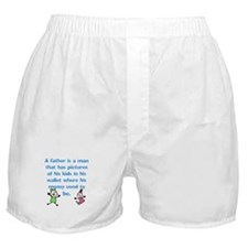 A Father is... Boxer Shorts