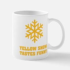 Yellow snow tastes funny - Flake No.3 Mug