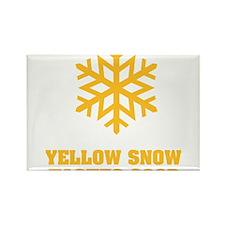 Yellow snow tastes good No.4 Rectangle Magnet