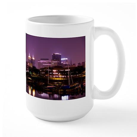 at Night Large Mug