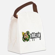 Cafferty Celtic Dragon Canvas Lunch Bag