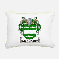McCabe Coat of Arms Rectangular Canvas Pillow