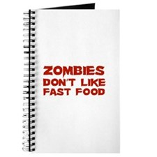 Zombies don't like fast food Journal