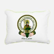 McCabe Clan Motto Rectangular Canvas Pillow