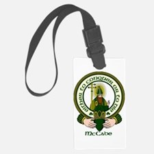 McCabe Clan Motto Luggage Tag