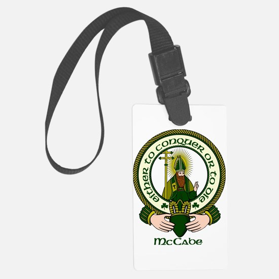 McCabe Clan Motto Luggage Tag