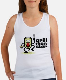 Grilling BBQ Monster Women's Tank Top