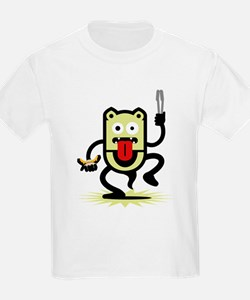 Grilling BBQ Monster (only) T-Shirt