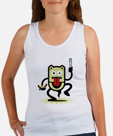 Grilling BBQ Monster (only) Women's Tank Top