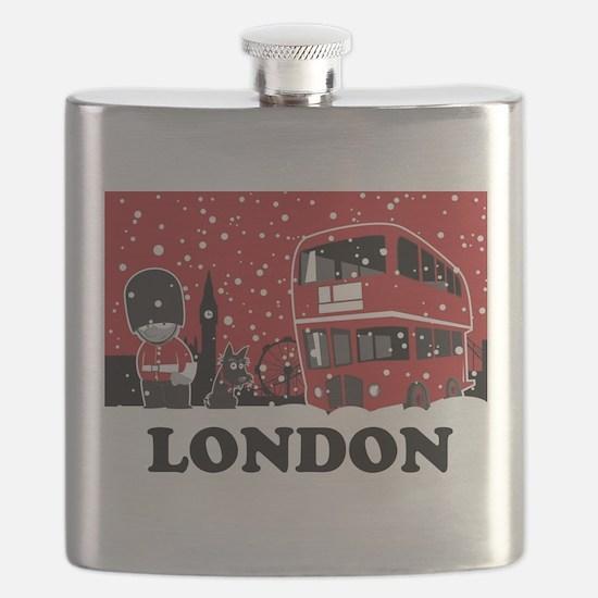Cute Buckingham palace Flask
