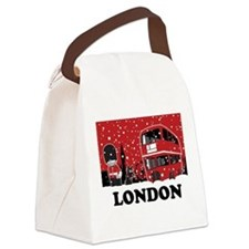 Funny Buckingham palace Canvas Lunch Bag