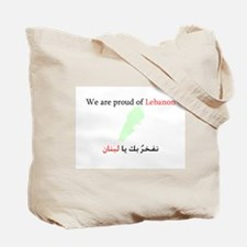 Vitory of Lebanon Tote Bag