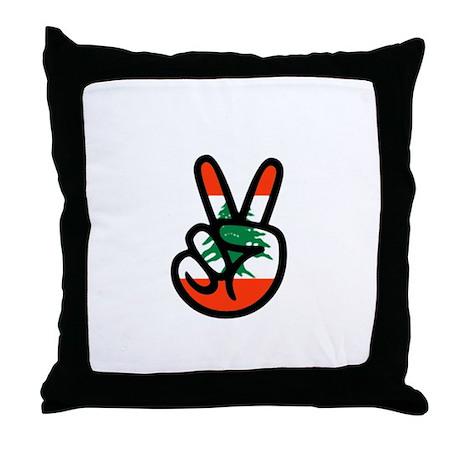 Vitory of Lebanon Throw Pillow