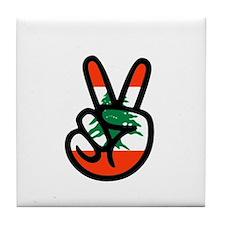 Vitory of Lebanon Tile Coaster