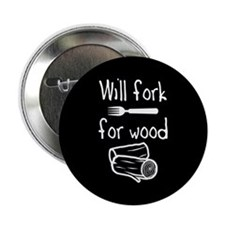 """Will fork for wood 2.25"""" Button"""