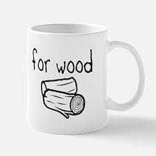Will fork for wood Mug