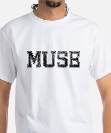 MUSE, Vintage White T-Shirt