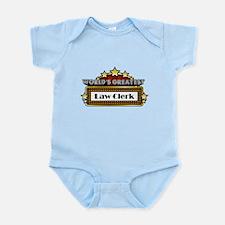 World's Greatest Law Clerk Infant Bodysuit