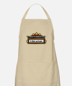 World's Greatest Librarian Apron