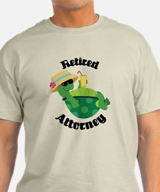 Retired Attorney Gift T-Shirt