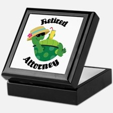 Retired Attorney Gift Keepsake Box